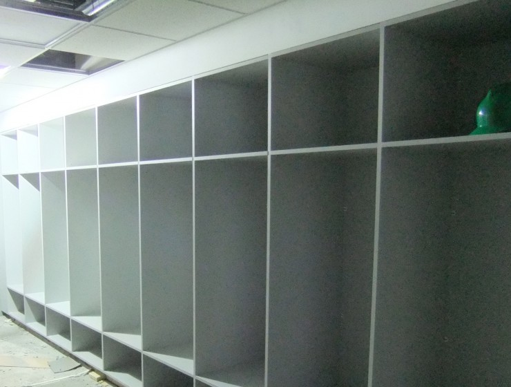 Commercial Factory Lockers
