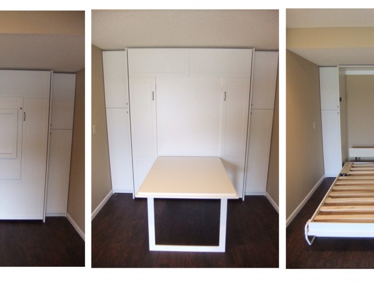 Wallbed with Table